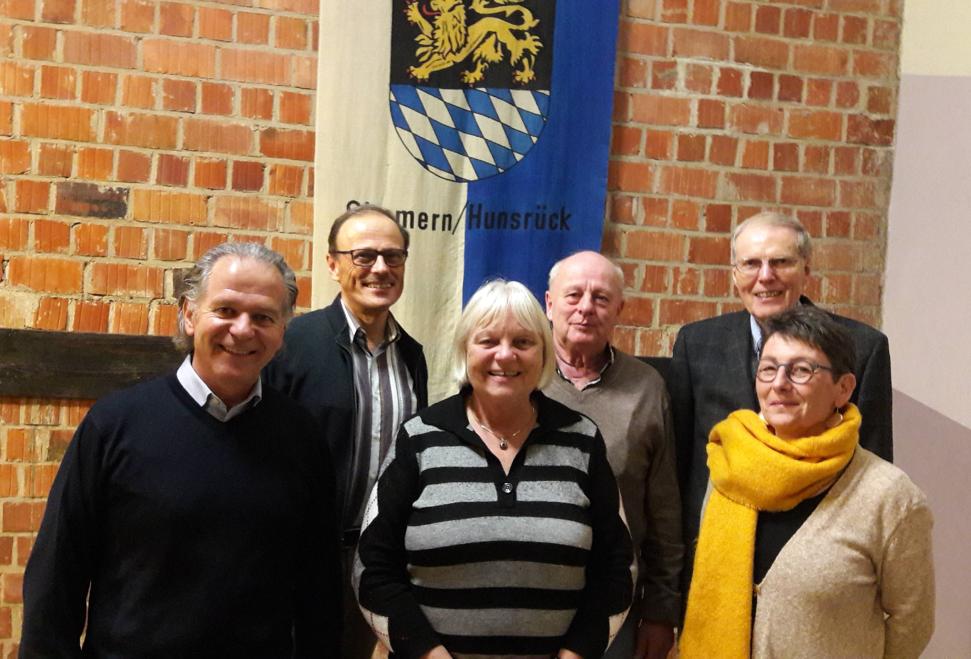 Dr. Andreas Nikolay (als Stadtbürgermeister stetiges Mitglied), Hans Joachim Jung (Schriftführer) Barba-ra Konrad (ehemalige Schriftführerin und Mitglied im Beirat) Helmut Schmitt (Kassenwart) Manfred Faust (1. Vorsitzender) Annette Wiederspahn (2. Vorsitzende)